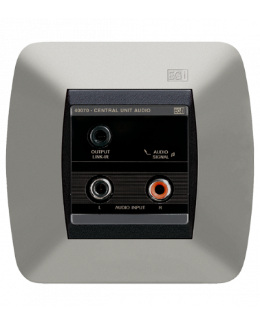 Minicentral 1 programa de audio + IR (caja 60 mm)