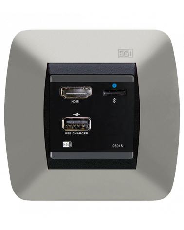 Media Hub Bluetooth ® con cargador USB e interfaz HDMI