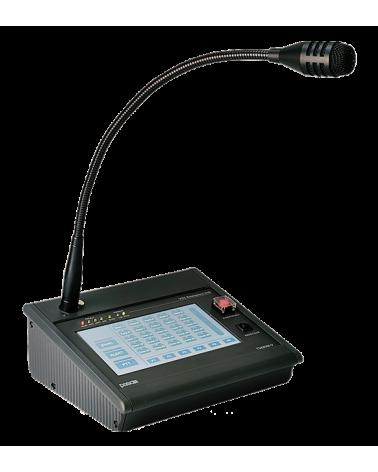 Consola microfonica avisos compatible norma EN54