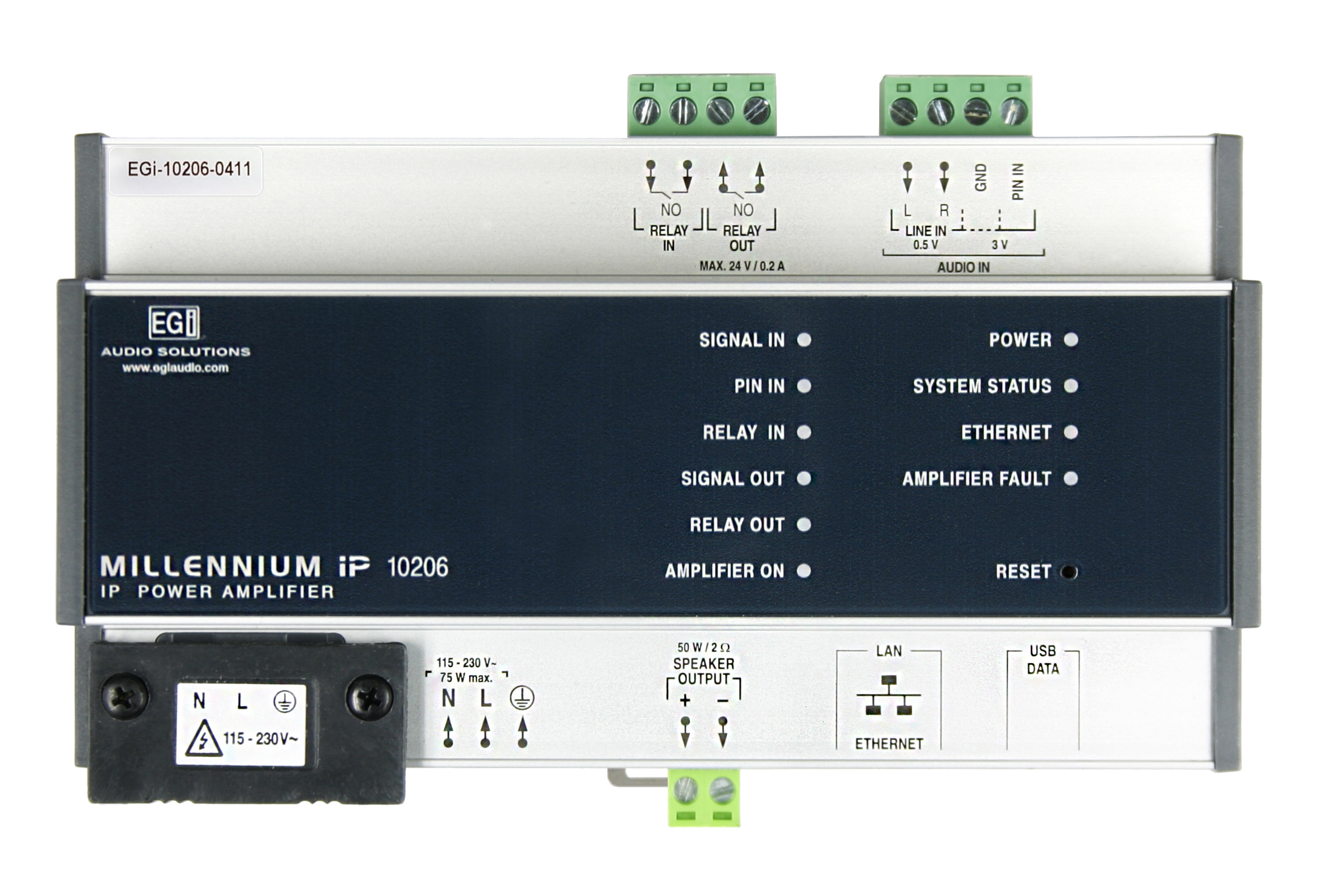 MILLENNIUM IP AUDIO IP Etapa ip 10206