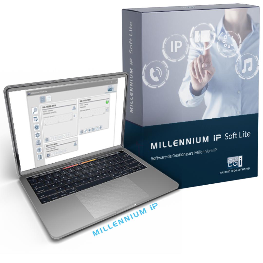 Software gestion audio ip
